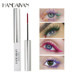 HANDAIYAN-Colorful-Waterproof-Makeup-Mascara-Eyelashes-Curling-Lasting-Natural