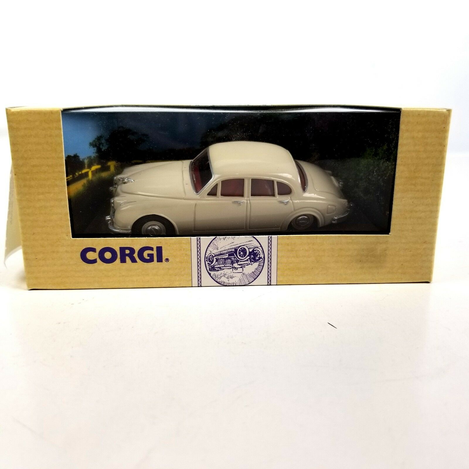 Corgi  96863 Jaguar MKII MKII MKII Sedan blancoo 1 43 o escala Diecast Modelo Coche Réplica 6b956e