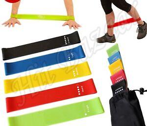 5-LOOP-RESISTANCE-BANDS-Exercise-Yoga-Training-Set-Elastic-Fitness-Gym-Workout