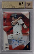 2015 Finest Gary Brown RC Rookie RED Refractor Autograph #/5 Giants RARE