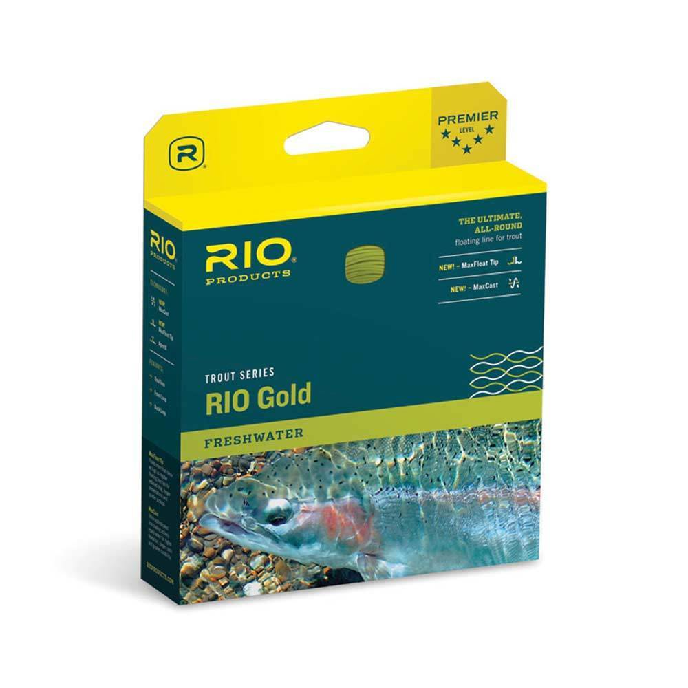 Rio gold Floating Fly Line Moss gold