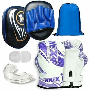 1x-BOXING-PUNCHING-PADS-TARGET-FOCUS-PUNCH-MITT-PAD-MARTIAL-ARTS-EXERCISE-PRO