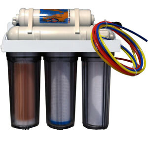 Psarion Psi 5 Stage Reef Aquarium Ro Di Water Filter System Reefmaster Dual Di Elegant And Sturdy Package Pet Supplies