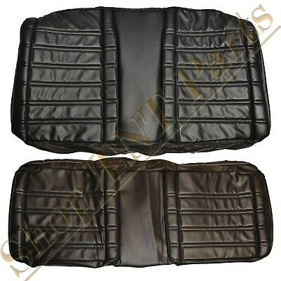 1968 Plymouth Roadrunner Seat Covers Coupe Rear Back Upholstery Skins GTX