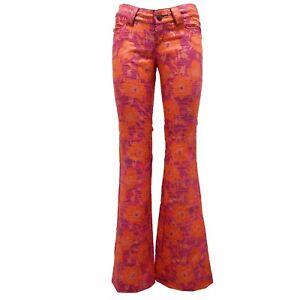 Donna Pantalon Femme Barcelona Orange Pantalone Pantalon Custo 8412u 5xAwqf