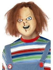 Chucky Halloween Mens Fancy Dress Licensed Overhead Costume Mask