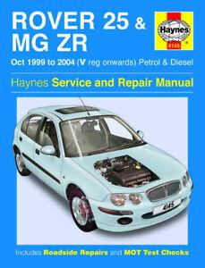 haynes manual 4145 rover 25 mg zr 1 1 1 4 1 4i 1 6 1 8 2 0 td rh ebay co uk mg zr haynes manual mg zs workshop manual pdf