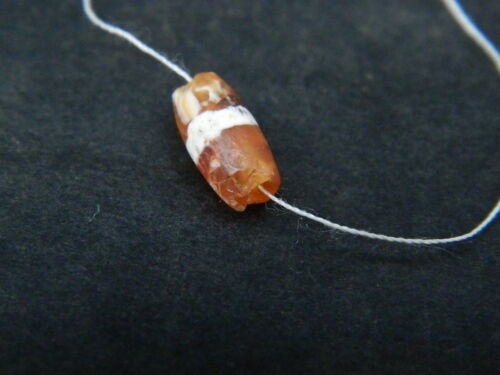 Ancient Agate Bead Roman 200 Bc #be5085 Antiquities