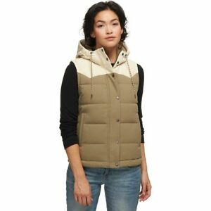 Patagonia-Bivy-Hooded-600-Fill-Down-Vest-Sage-Khaki-Size-Small-27746