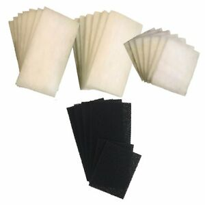 Aspiring Aquaone Compatible 980 21 Poly And 6 Carbon Filter Pads 980t