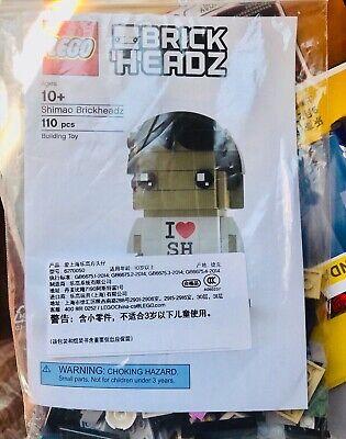 Lego Brickheadz Beijing Grand Opening READ DESCRIPTION