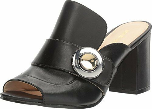 Nine West Womens Glynn Leather Leather Leather Mule- Pick SZ color. ca460c
