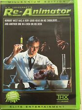 RE-ANIMATOR 1985 Horror Classico Raro 2-Disc Elite Millennium Edizione US R1 DVD
