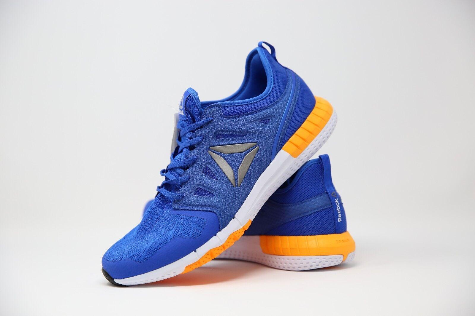 Reebok Uomini Blu e 44 Arancione zprint Scarpe Da Ginnastica Misura EU 44 e Scarpe classiche da uomo 00d662