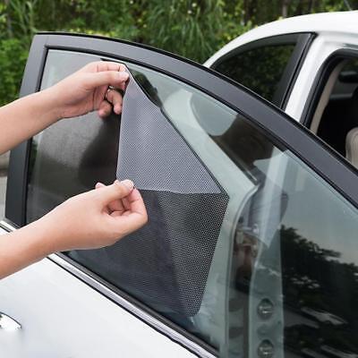 2PCS Auto Car Curtain Side Front Window Shade Windshield Sunshade Shield Visor