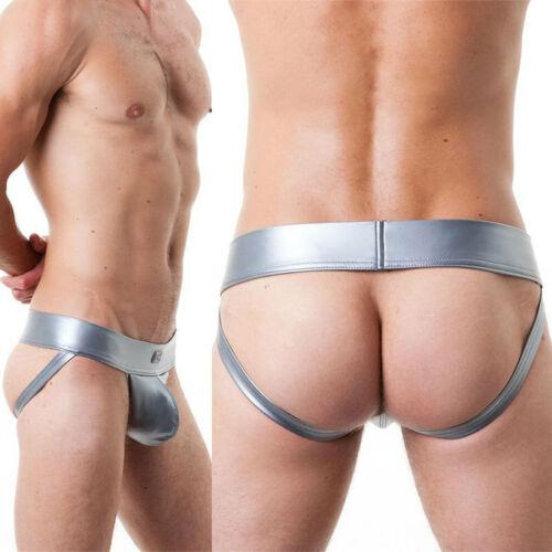 Men/'s Jockstrap Bulge Bikini T-Back Thong G String Underwear Lingerie Swimwear