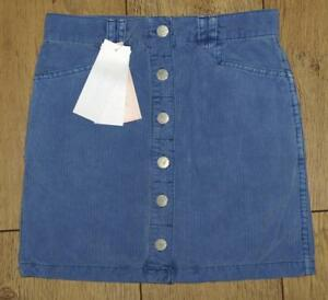 7e32bbae8 Image is loading Bnwt-Girls-French-Connection-Vintage-Corduroy-Skirt-Blue-