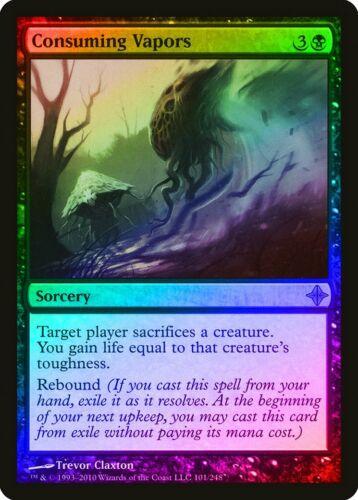 Consuming Vapors FOIL Rise of the Eldrazi PLD-SP Black Rare MAGIC CARD ABUGames