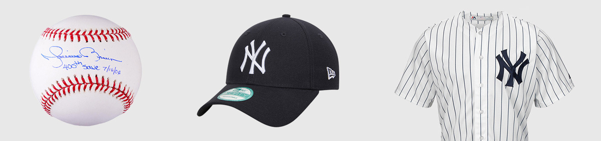 Shop Event New York Yankees Authentic fan apparel & collectibles