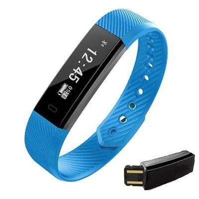 Bluetooth Smart Watch ID115 Wristband Bracelet Pedometer Sport Fitness Tracker
