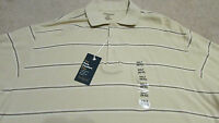 With Tags Men's Size Xxlt (50-52) Striped Northcrest Short Sleeve Shirt