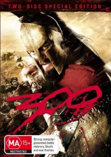 1 of 1 - 300 (DVD, 2007, 2-Disc Set) -- Free Postage --