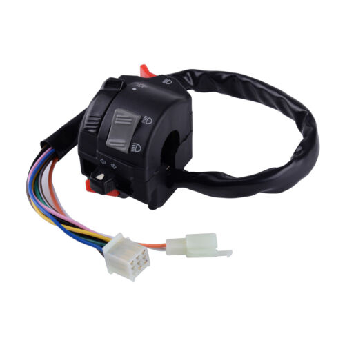 Moped Scooter Turn Signal 7//8/'/' Motorcycle Headlight Control Start Off Switch