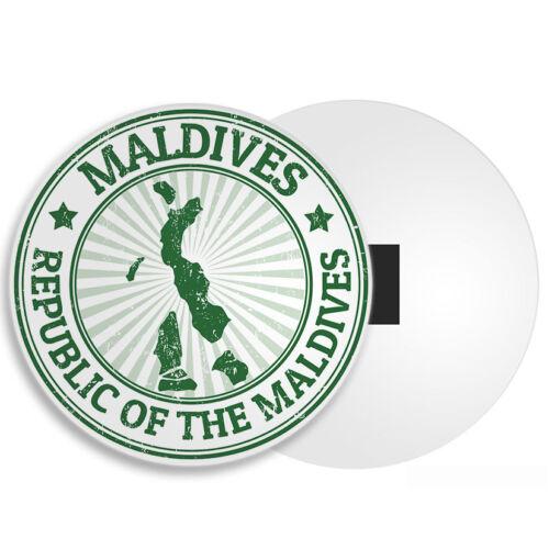 Maldives Carte aimant de réfrigérateur-Vacances destination touristique voyage Cool Cadeau #4137