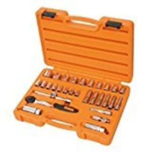 Beta-Tools-Easy-913A-C30-Socket-Set-amp-Ratchet-3-8