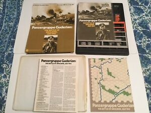 SPI Wargame PLUS Magazine #57 Panzergruppe Guderian - The Battle of Smolensk VG
