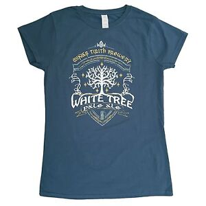 """S 5XL /> TOLKIEN /""""Lord of the rings/"""" inspired T-Shirt /> White Tree Pale Ale"""