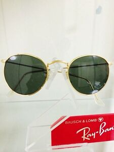 65f10239b Image is loading Vintage-Ray-Ban-Bausch-and-Lomb-Round-Sunglasses
