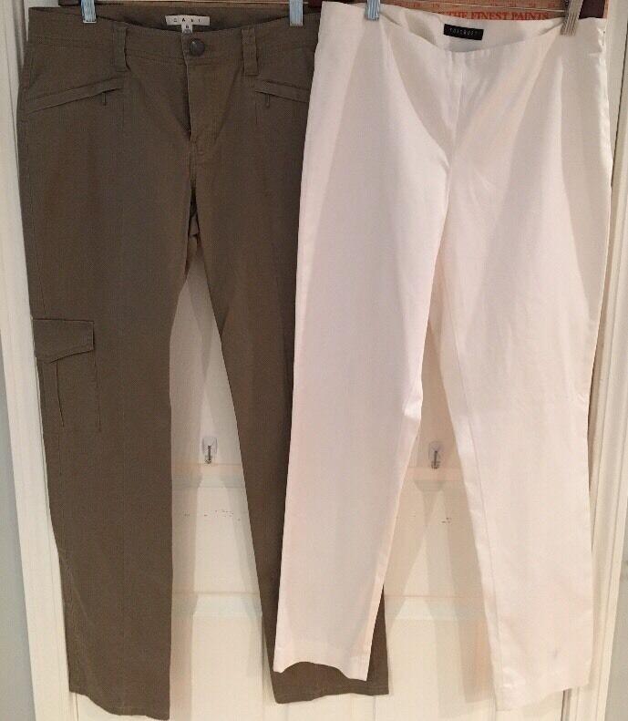 Women's 6 Cabi Brown Pants