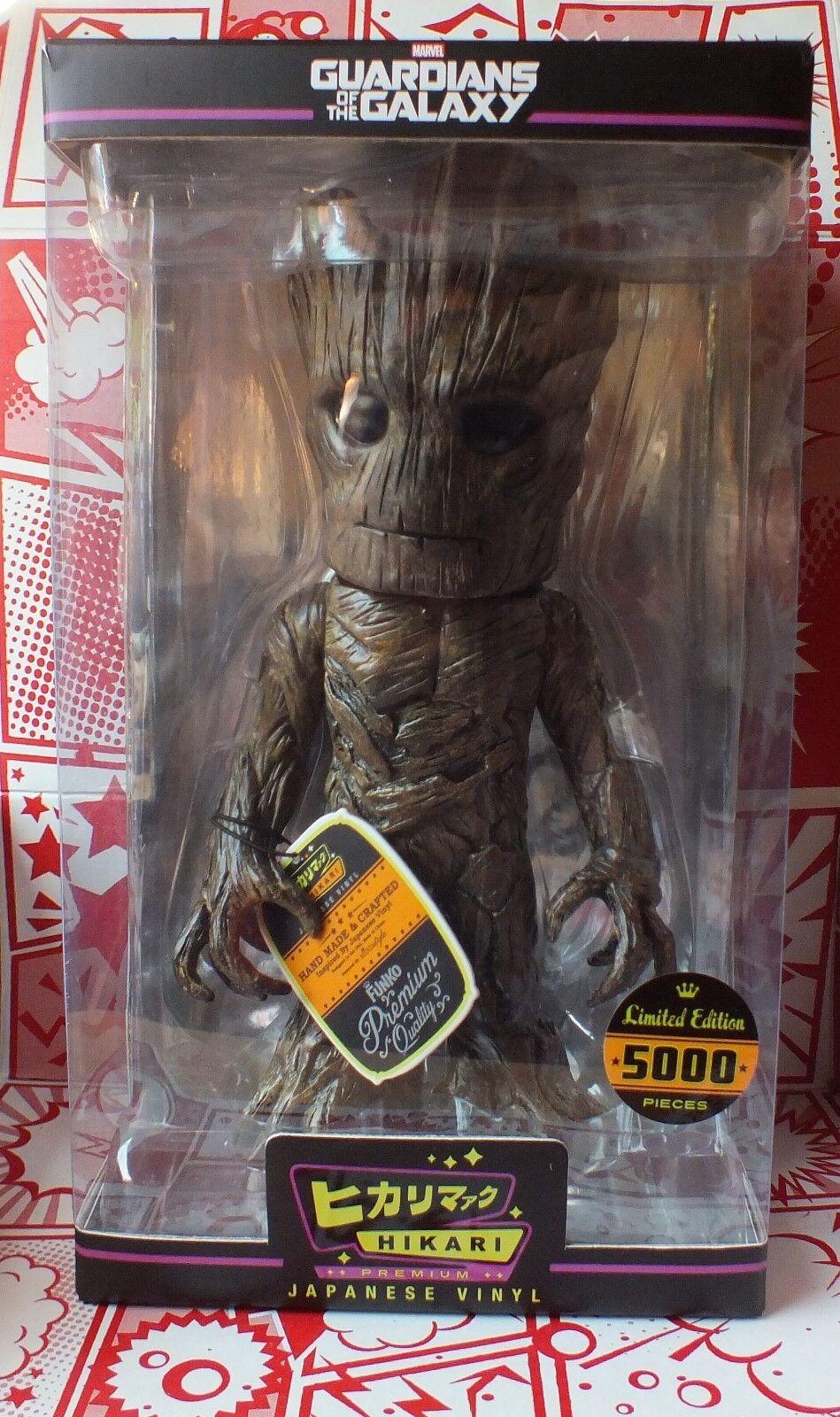 Guardians of the Galaxy Groot Hikari Premium Sofubi Figura in vinile-Ltd5000