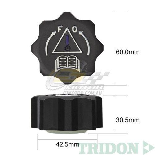TRIDON RADIATOR CAP FOR Peugeot RCZ 1.6T 10//10-06//11 4 1.6L EP6CDT X VVT 16V
