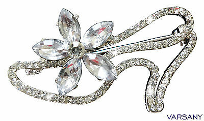 VARIOUS FASHION BROOCH BROACH RHINESTONE DIAMANTE CRYSTAL BLING PARTY NOVELTY