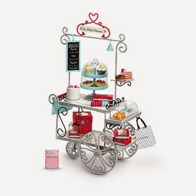 American Girl Doll Grace's Graces Pastry Cart 2015 Girl of the Year Furniture