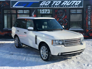 2010 Land Rover Range Rover Supercharged SUV - Nav, camera, DVD