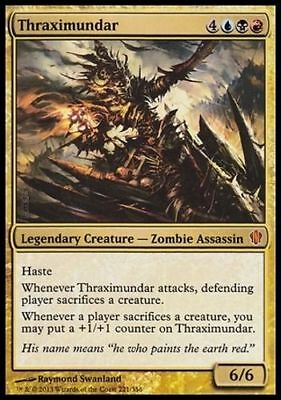 Magic the Gathering MTG NM Rare Commander 1x THRAXIMUNDAR
