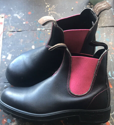 Blundstone Boots - Black + Pink — Sweet!'