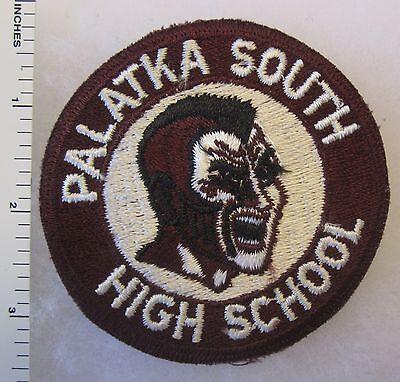 Vintage Original DETROIT MICHIGAN SOUTH WESTERN HIGH SCHOOL ROTC PATCH Cut Edge