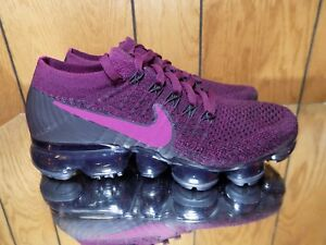 Image is loading Nike-Air-Vapormax-Flyknit-Womens-849557-605-Bordeaux- af778cb448a0