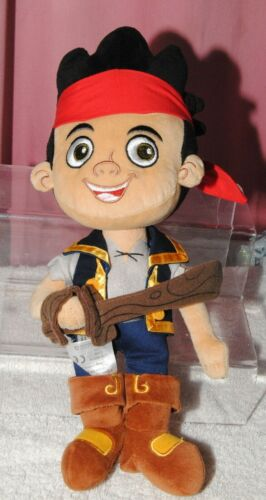 DISNEY STORE 14 inch Jake and the Neverland Pirates soft plush toy