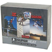 Super Heat Skateboard Trading Card Game Throwdown Booster Box 24 Packs Toys