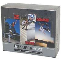 Super Heat Skateboard Trading Card Game Throwdown Booster Box 24 Packs Toys