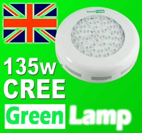 135W CREE LED UFO Grow panel Green Lamp Light Board 45x 3W CREE = The best LED's