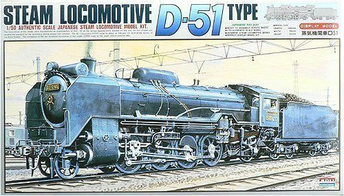 Arii 356012 Japanese Steam Locomotive Type D51 1 50 scale kit (Microace)