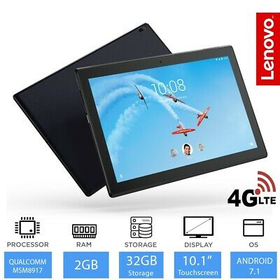 "Lenovo Tab 4  - 10.1"" Android Tablet 4G LTE, Snapdragon Quad Core, 2GB RAM, 32GB"