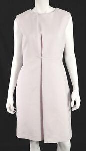 JIL-SANDER-Powder-Pink-Cotton-Crepe-Pleated-Detail-Sheath-Dress-38