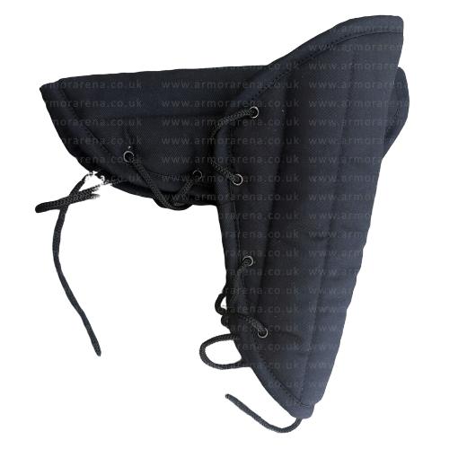 Black Cotton Arm Protector Padded Bracers Medieval Renaissance Costume